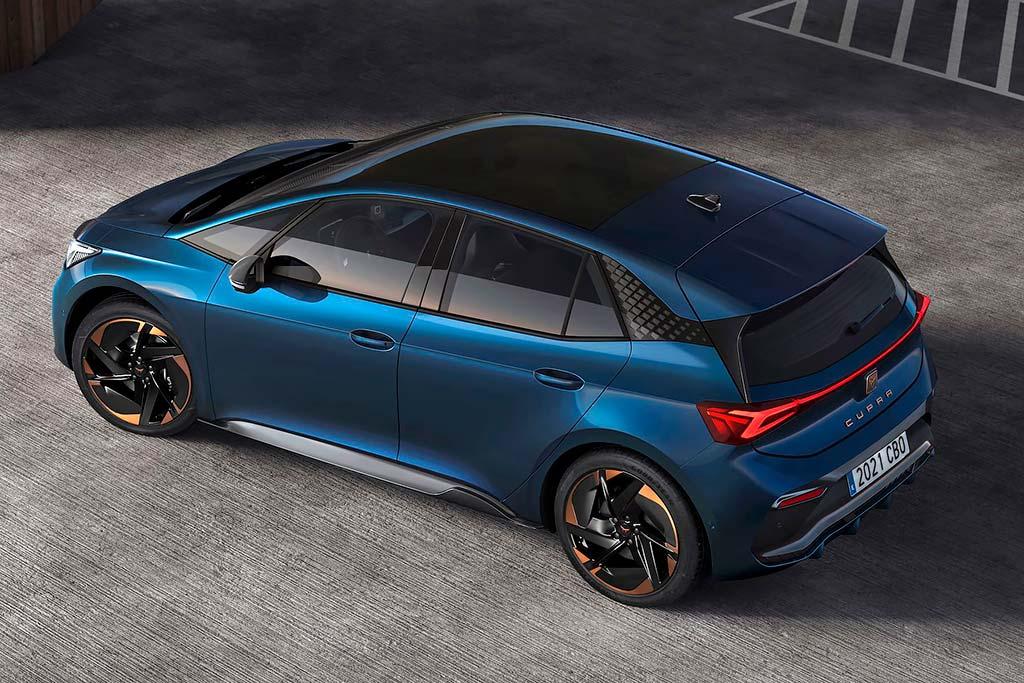 Представлен Cupra Born: спортивный вариант электрического хэтчбека VW ID.3