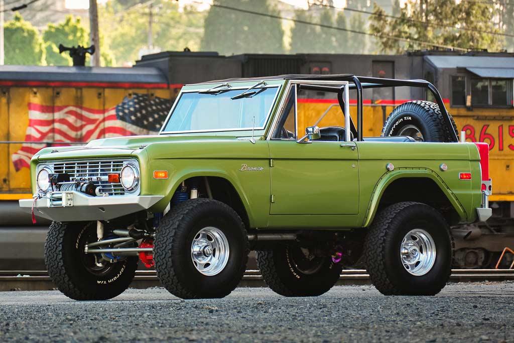 Доработанный Ford Bronco 1973 года не вызвал интереса среди покупателей