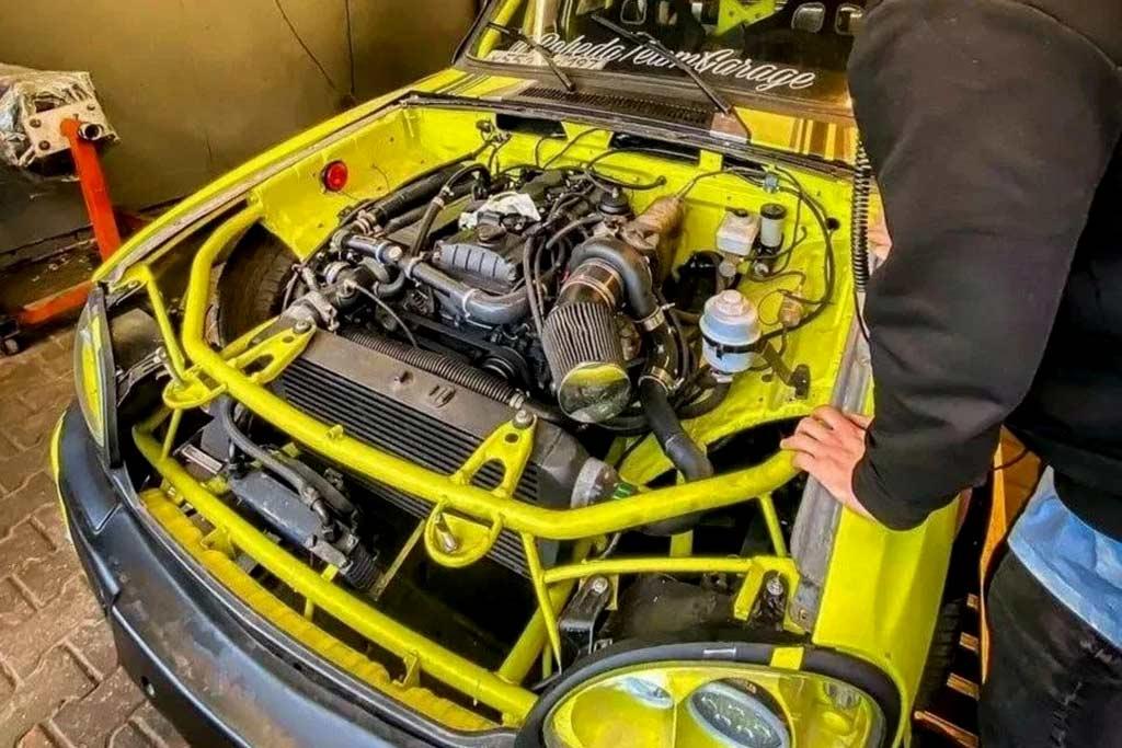 «Волга» для езды боком: в продаже дрифтовый ГАЗ-31105 стоимостью 10 млн