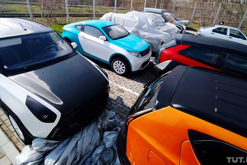 Машины никому не нужны: найдены брошенные прототипы проекта «ё-мобиль»