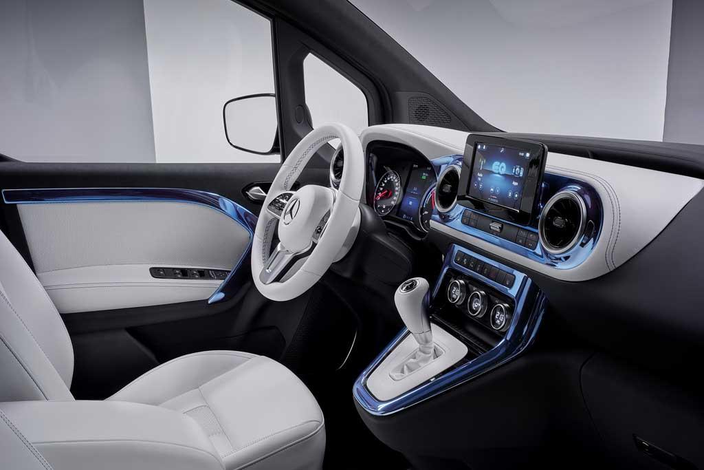 Mercedes-Benz Concept EQT стал предвестником нового семейства моделей T-Class