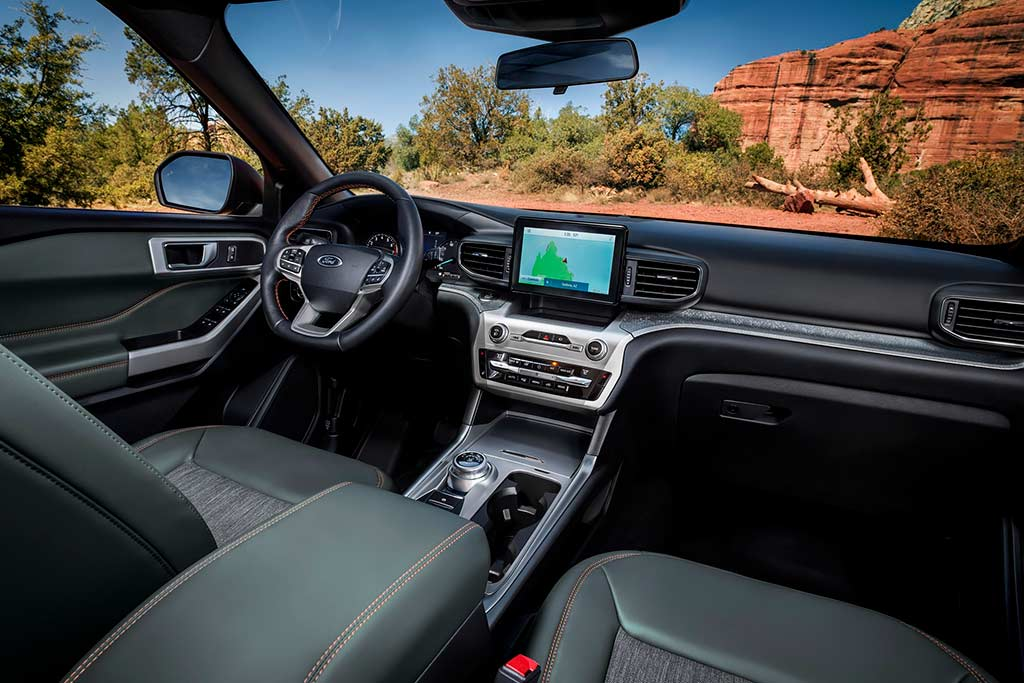 Ford Explorer Timberline: внедорожная версия кроссовера
