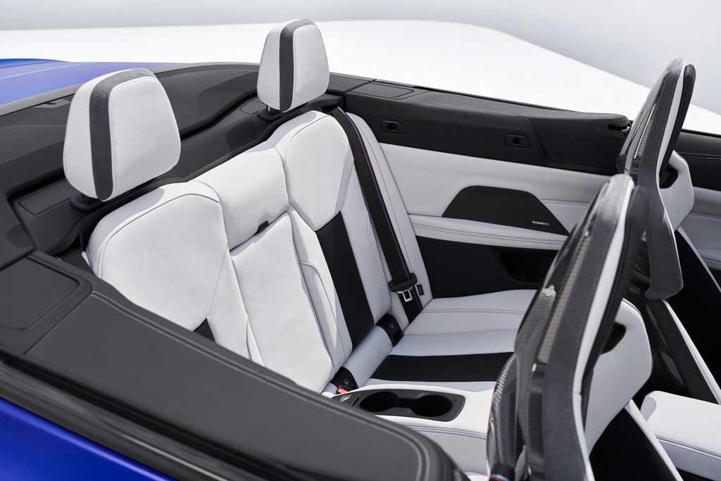 Полноприводный кабриолет BMW M4 Convertible (G83): до сотни за 3,7 секунды
