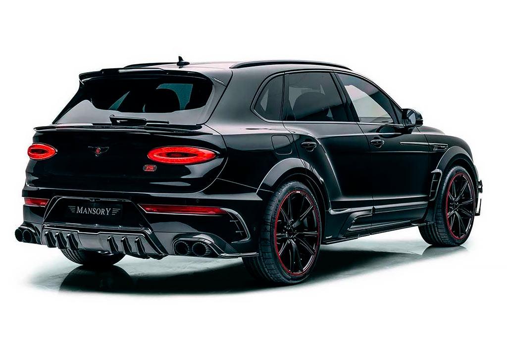 Bentley Bentayga от Mansory: зловещая внешность и 760-сильный мотор