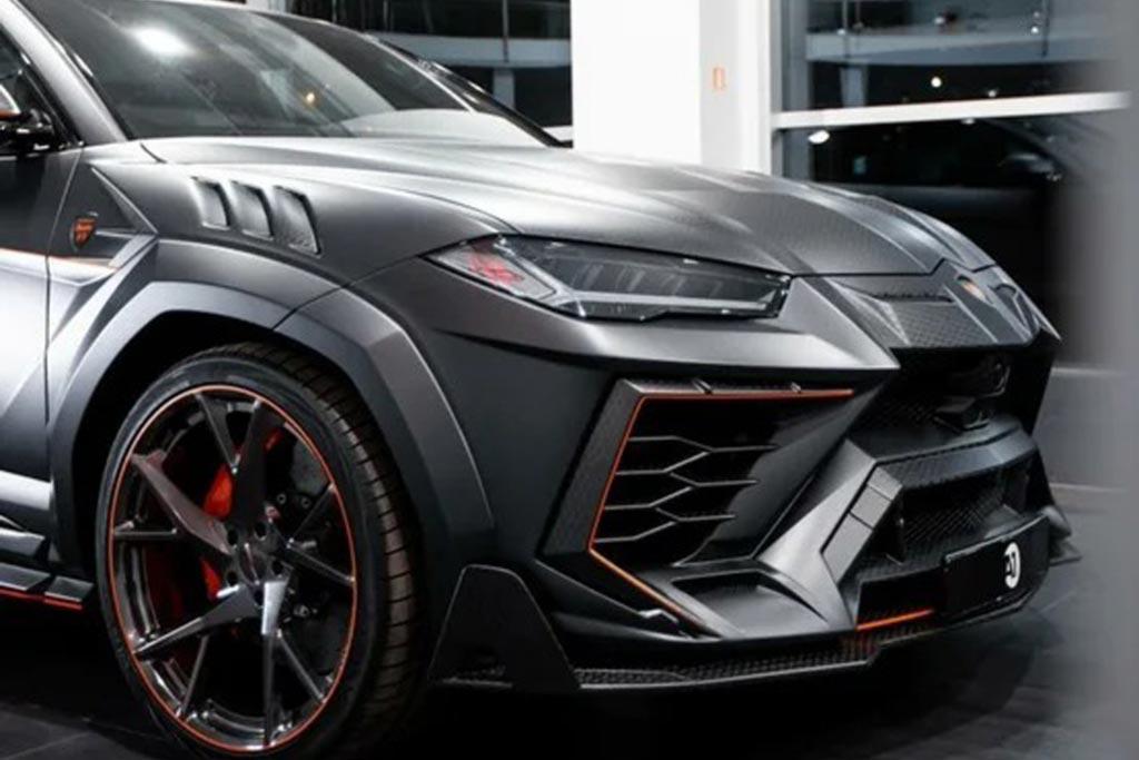 Тюнингованный Lamborghini Urus от Mansory