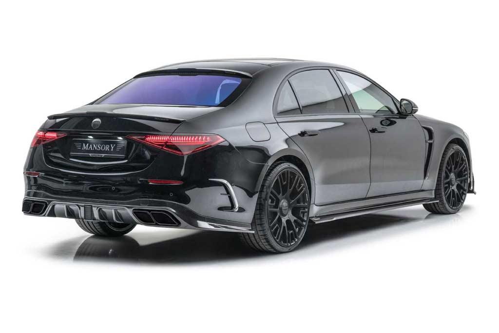 В ателье Mansory подготовили тюнинг-кит для нового Mercedes S-Class W223