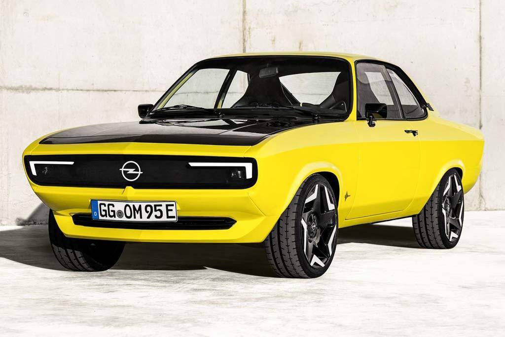 Классический Opel Manta 1970 года превратили в электрический рестомод