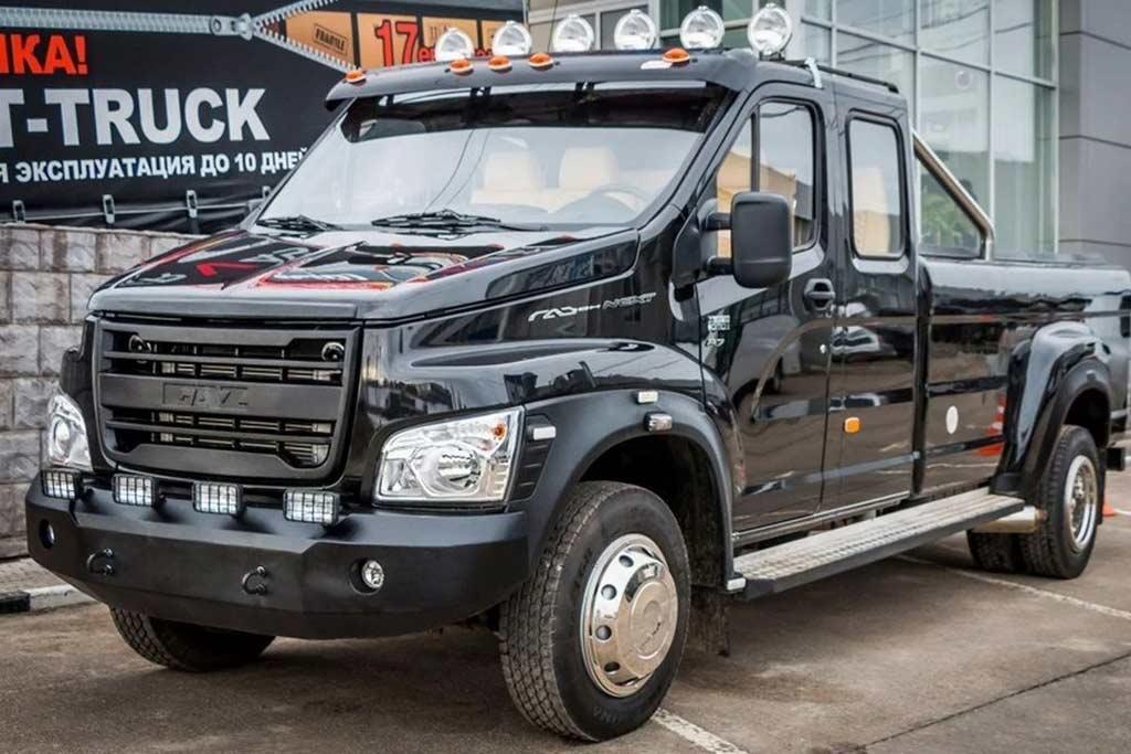 ГАЗон-Next стилизовали под пикап Ford Super Duty: теперь такая машина в продаже