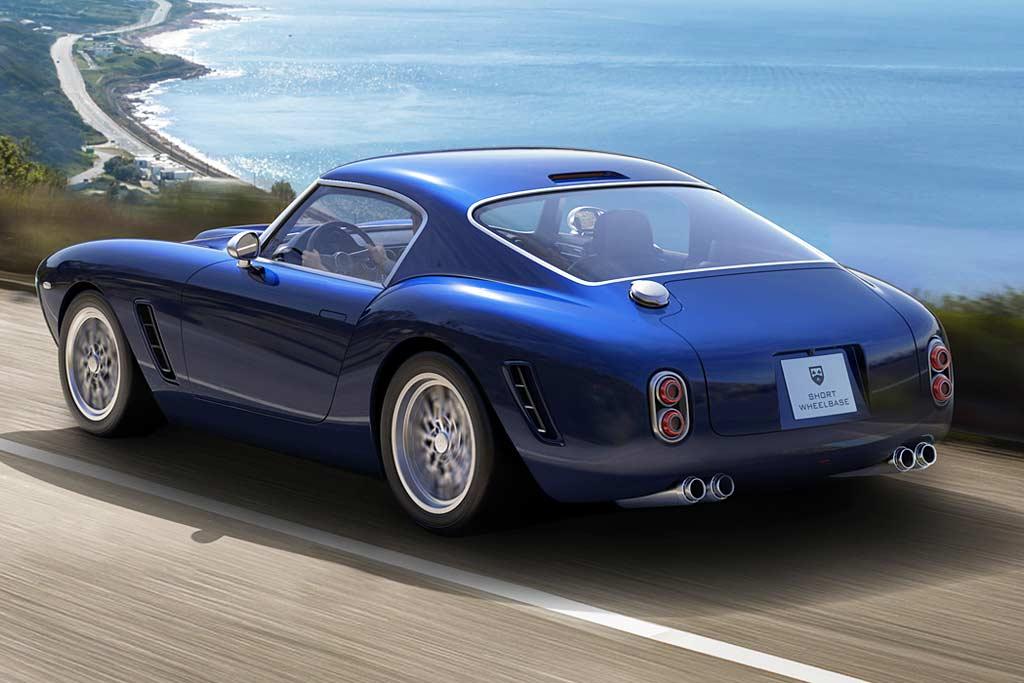 Стильное ретрокупе RML Short Wheelbase по мотивам классического Ferrari 250