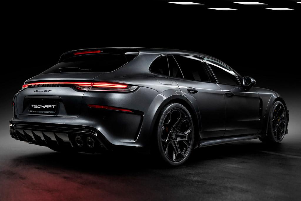 Тюнеры из TechArt вернулись к доработке Porsche Panamera Sport Turismo