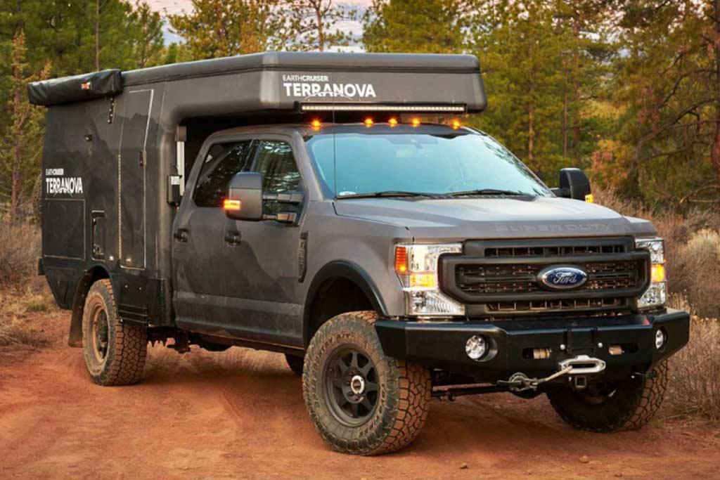 Пикап Ford превратили в роскошный автодом Terranova за 21,4 млн рублей