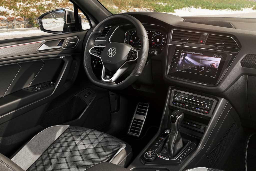 Удлиненный Volkswagen Tiguan Allspace 2021 обновили вслед за обычным Тигуаном