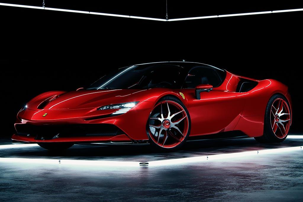 В ателье Wheelsandmore подняли отдачу движка на Ferrari SF90 свыше 1100 л.с.