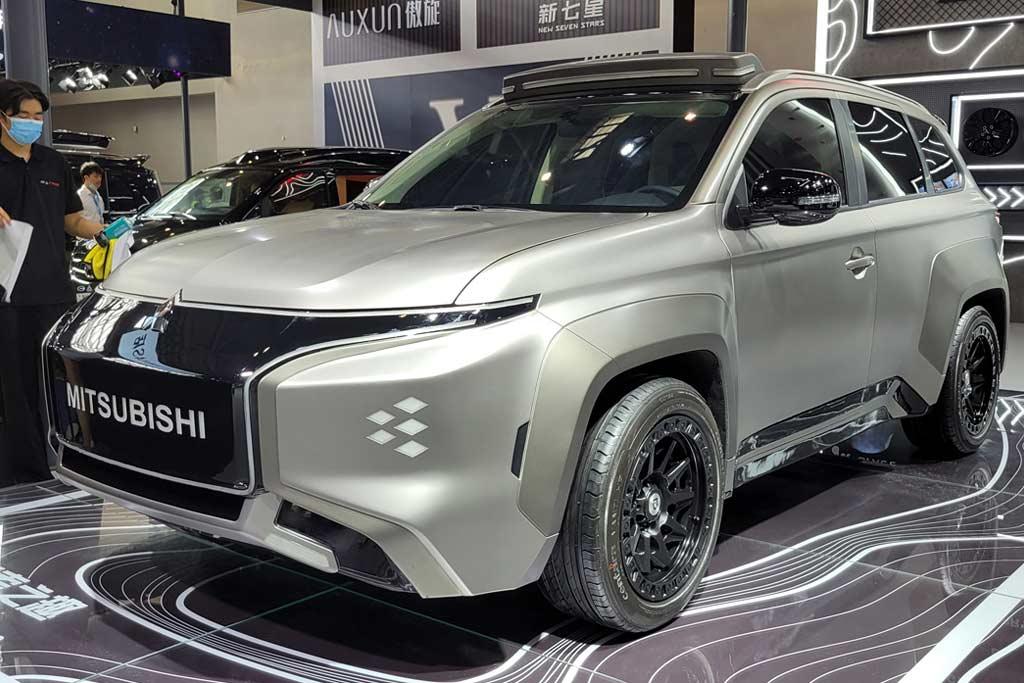Компания Mitsubishi показала электрический кроссовер Airtrek