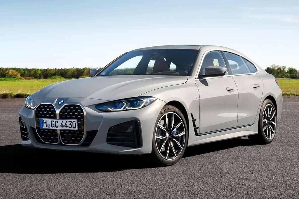 BMW 4-Series Gran Coupe 2022: немцы представили лифтбек нового поколения
