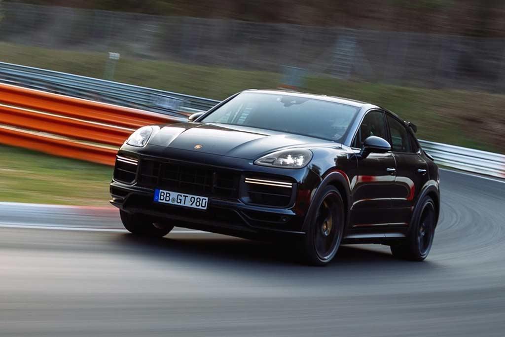 Новая версия Porsche Cayenne стала самым быстрым кроссовером Нюрбургринга