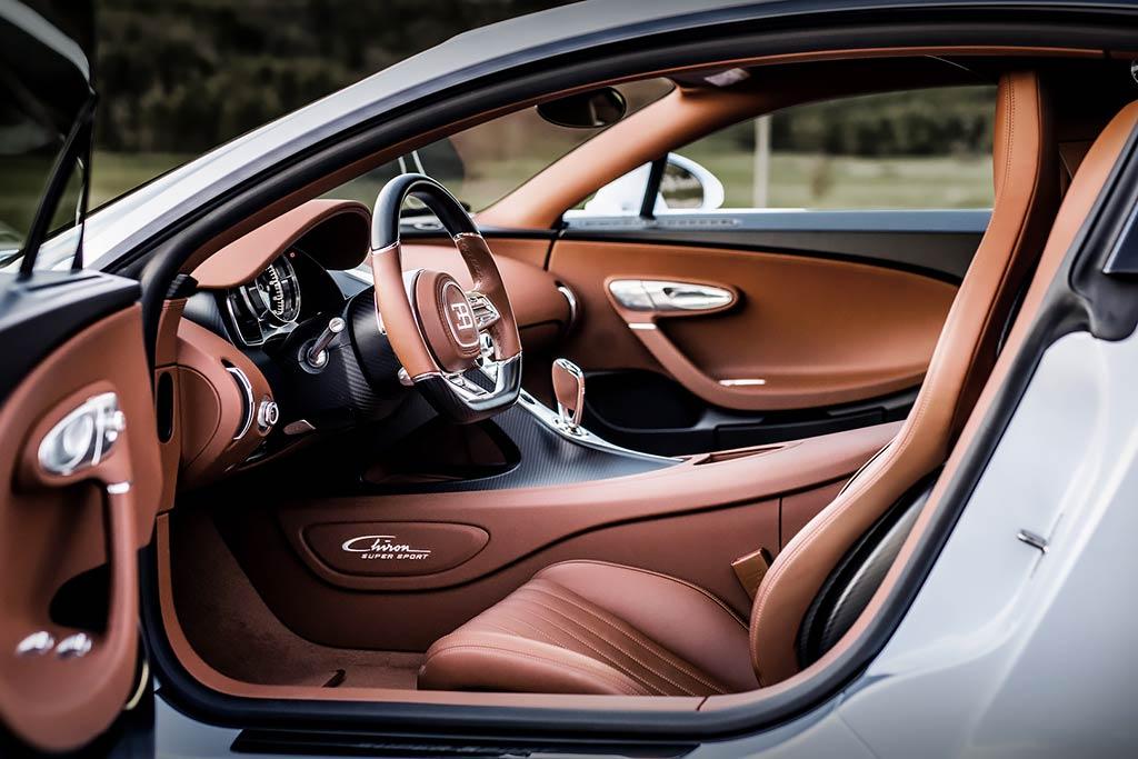 Bugatti Chiron Super Sport: бешеная динамика и комфорт в одном флаконе