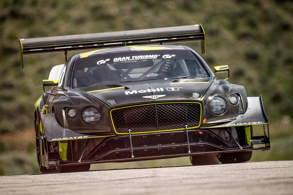 Bentley Continental GT серьезно доработали для скоростного подъема на Пайкс-Пик