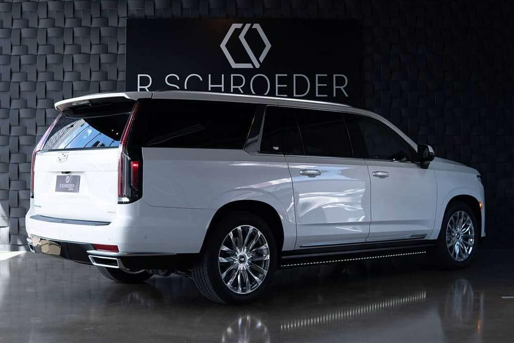 Новый Cadillac Escalade 2021 за 7 777 777 рублей: открыт прием заказов в РФ
