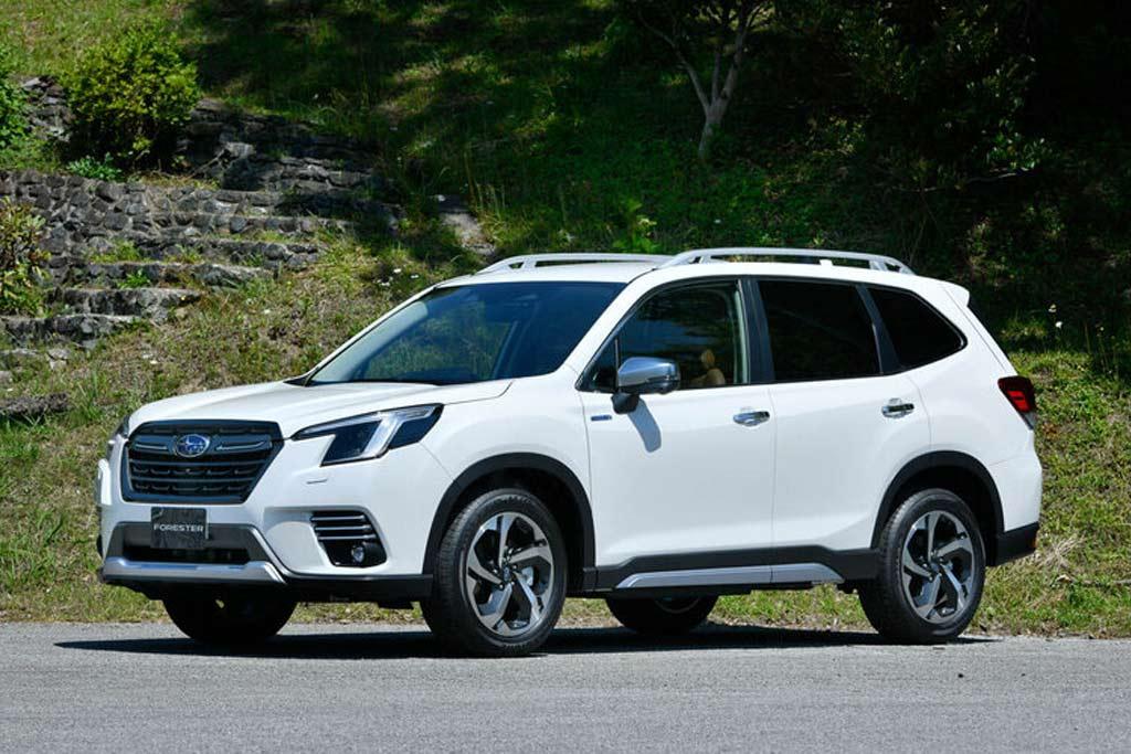 Обновленный Subaru Forester 2022 для Японии: рассматриваем изменения