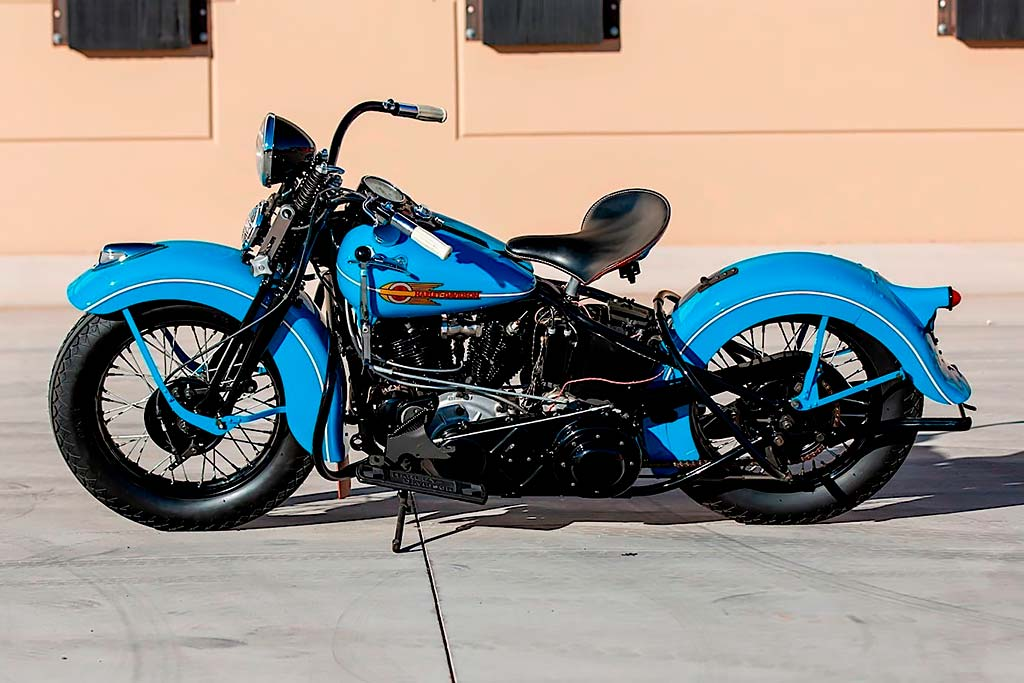 Кто-то выложил за классический Harley-Davidson 1938 года 11 млн рублей