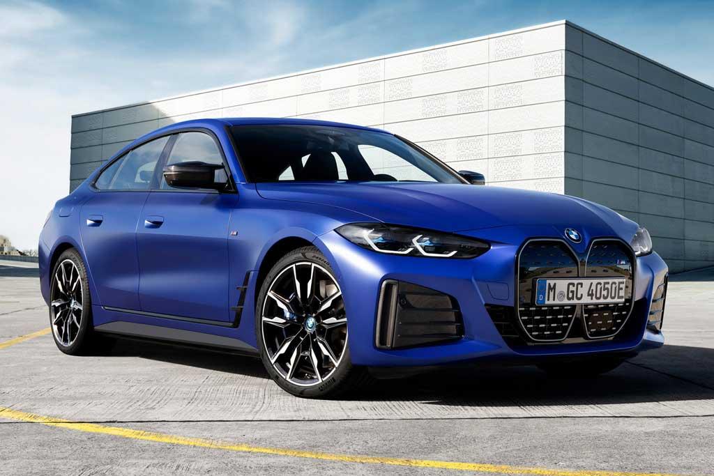 Баварцы официально представили электрический лифтбек BMW i4