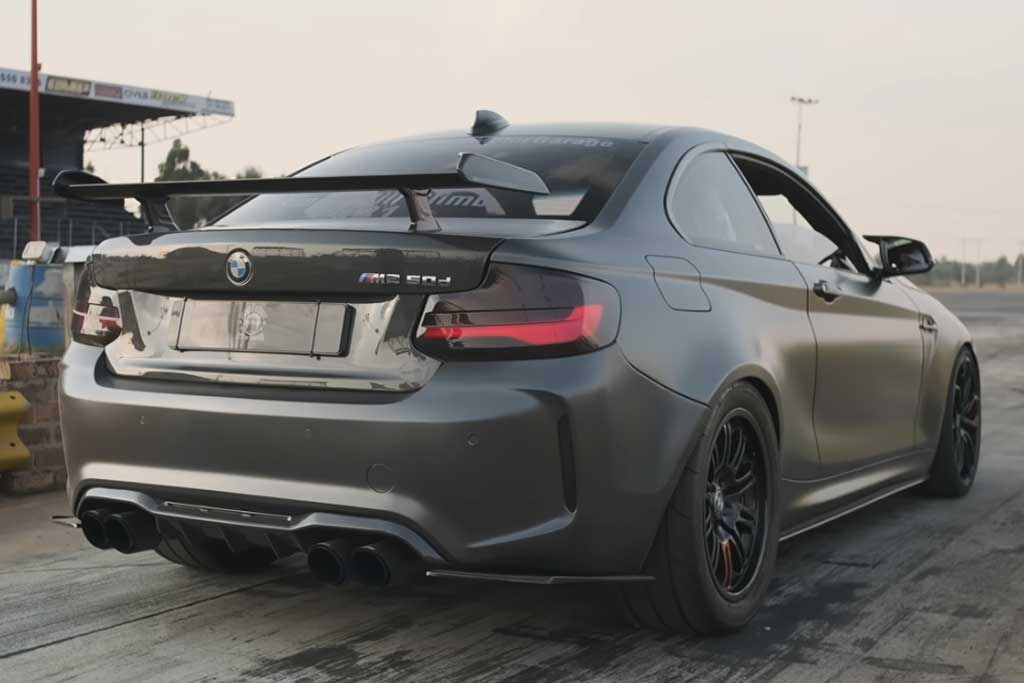 Энтузиаст переделал скромный BMW 220d в 600-сильного монстра с закисью азота