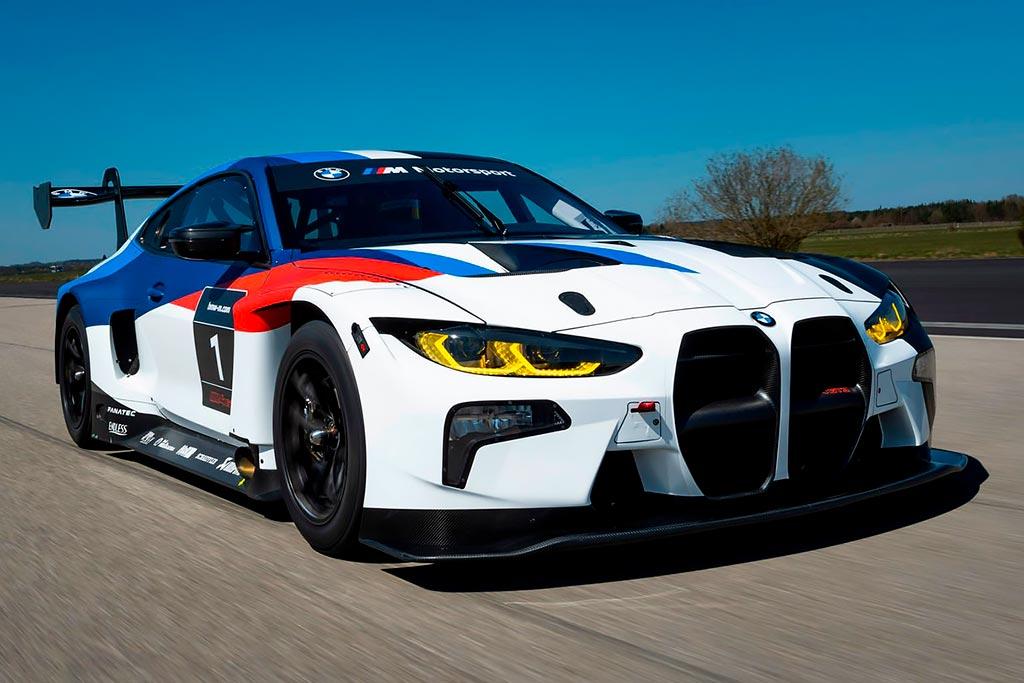BMW M4 GT3: немцы презентовали гоночное купе за 37 млн рублей