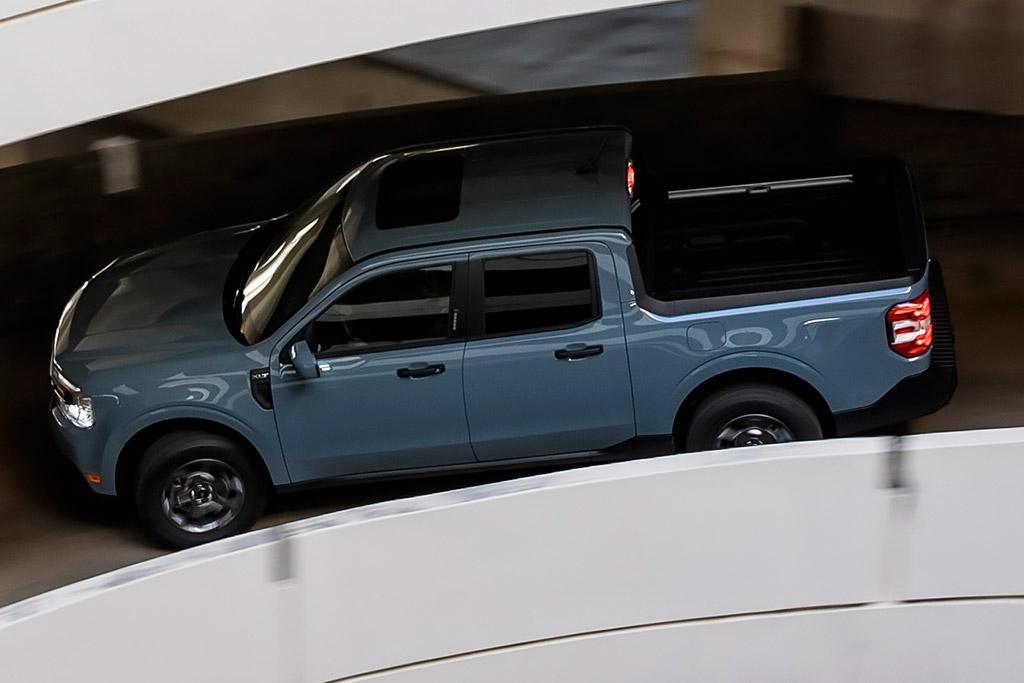 Новый Ford Maverick 2022: самый компактный пикап в линейке производителя