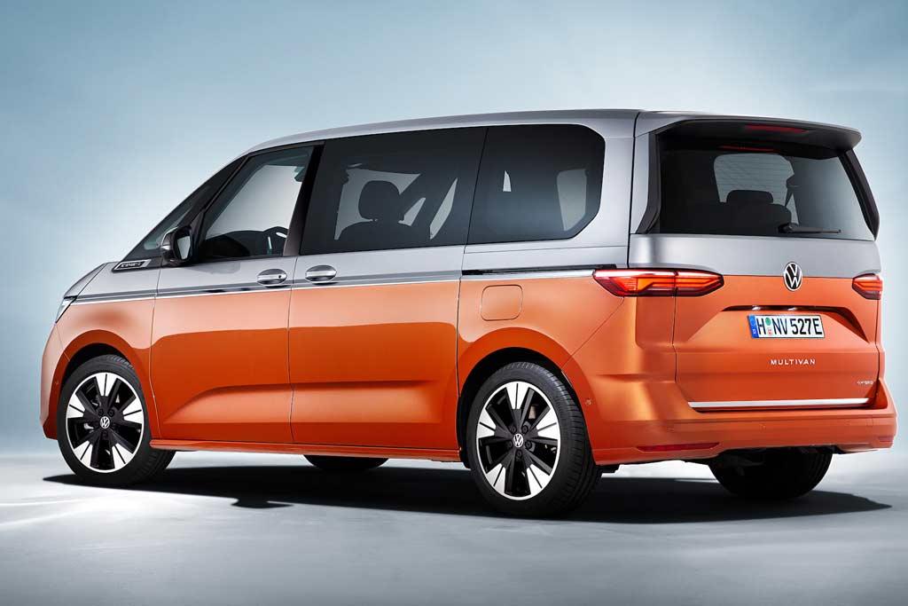 Новый Volkswagen Multivan T7 выйдет на рынок в гибридном исполнении