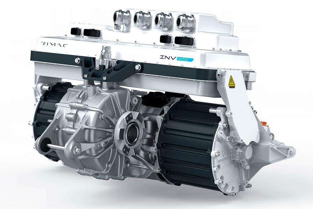 Rimac Nevera: электрический гиперкар мощностью почти 2000 л.с.