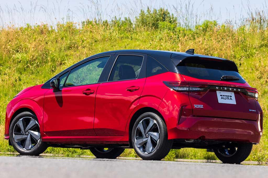 Новый Nissan Note впервые обзавелся роскошной версией Aura
