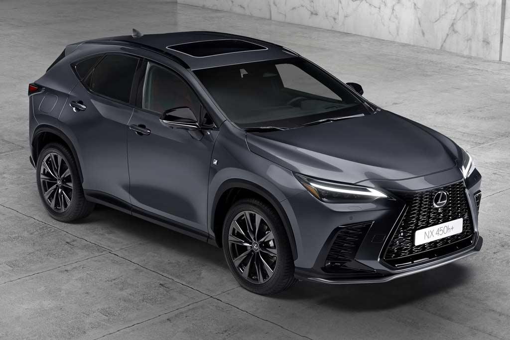 Японцы представили новый Lexus NX 2022: второе поколение кроссовера