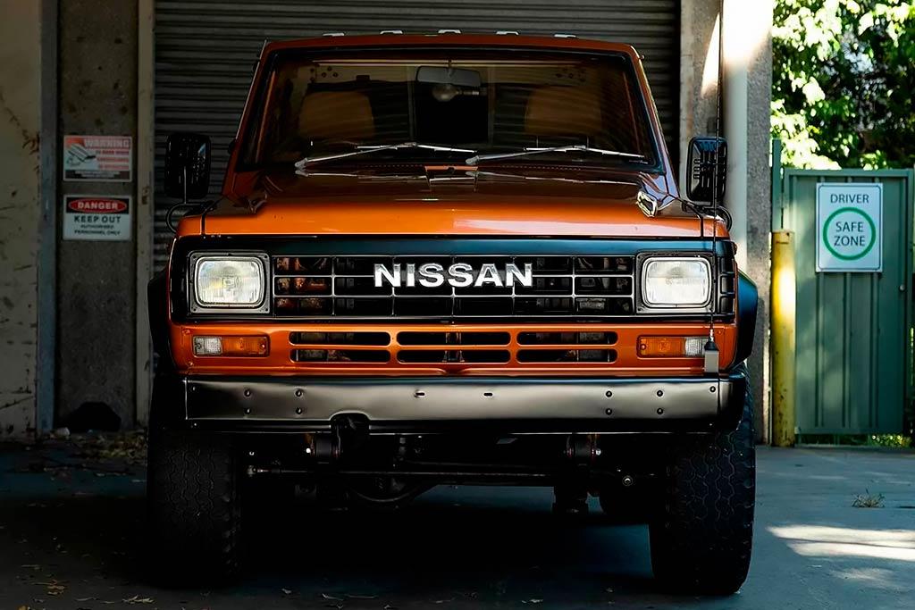 На торги выставлен идеально сохранившийся Nissan Patrol 1983 года