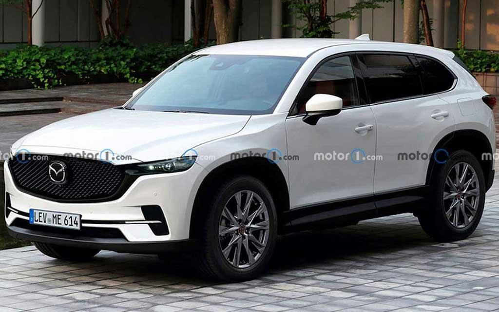 Так может выглядеть новая Mazda CX-5 2023: в сети опубликовали рендер модели