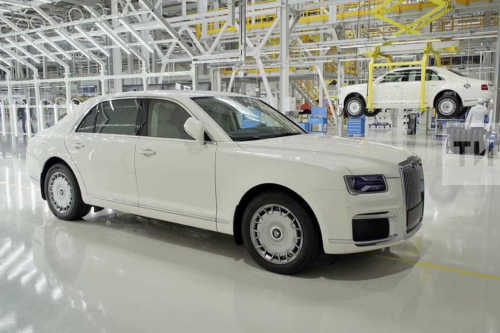 Стартовал выпуск серийных Aurus Senat: в ОАЭ заказали партию из 30 бронированных машин