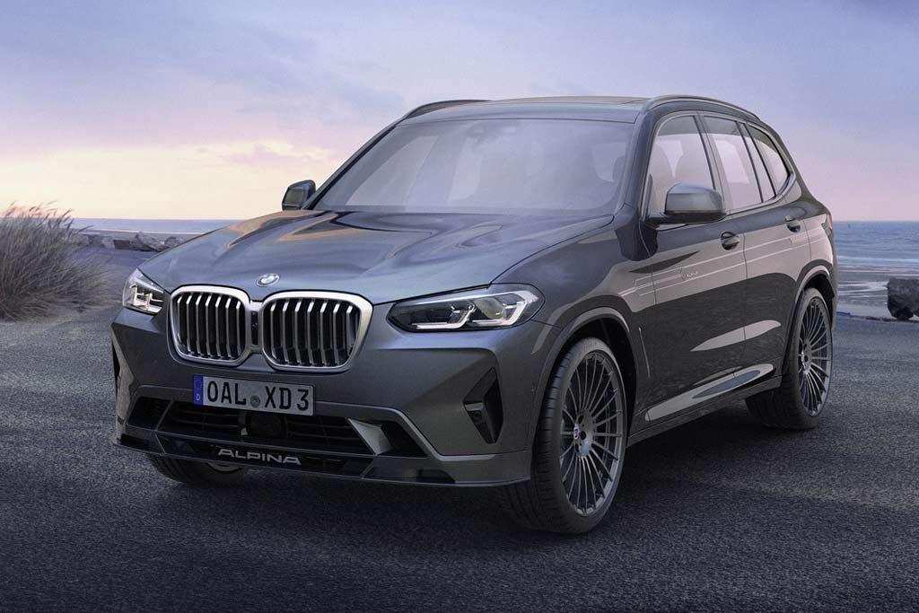Компания Alpina представила собственные версии обновленных BMW X3 и X4